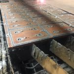Лазерная резка на заводе